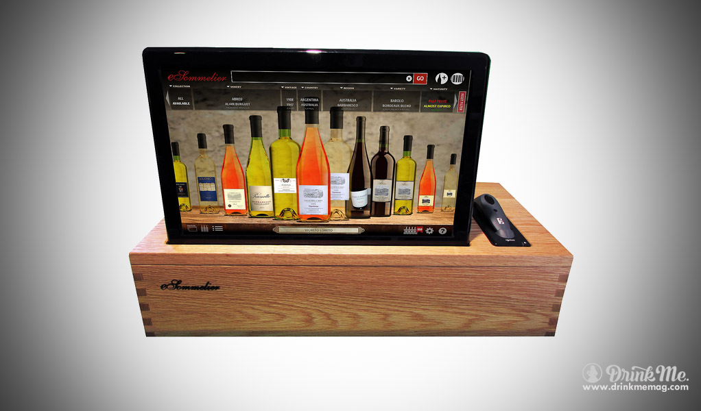 Digital Wine Cellar Management System drinkmemag.com drink me & Bring Tech To Wine Storage With This Cellar Management System - Drink Me