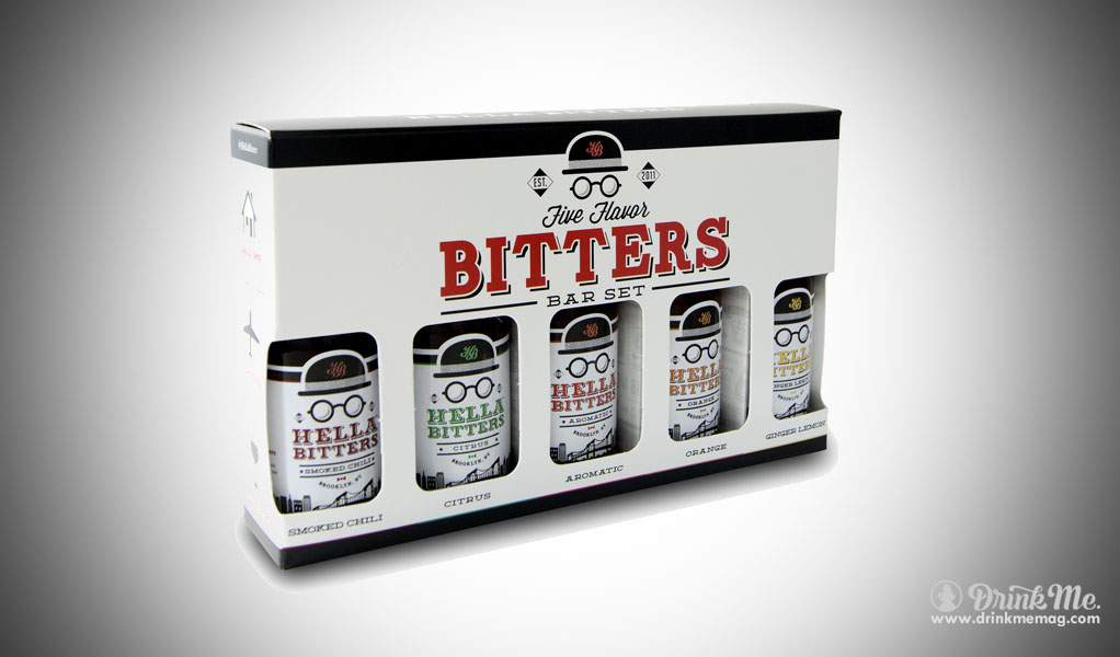 Five Flavors Bitters set drinkmemag.com drink me