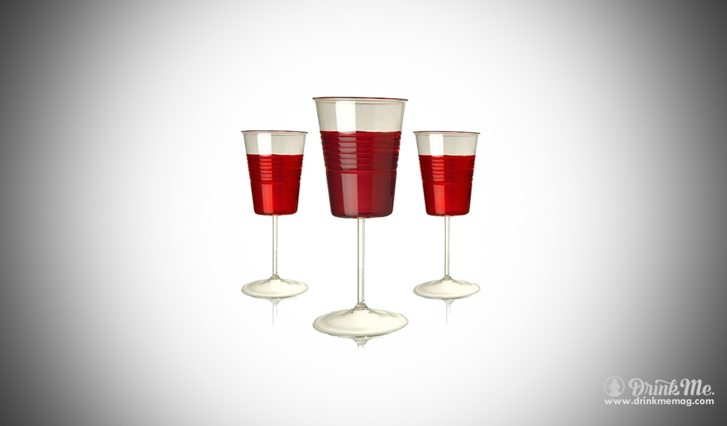 Plastic Wine glass weird wine glass drinkmemag.com drink me