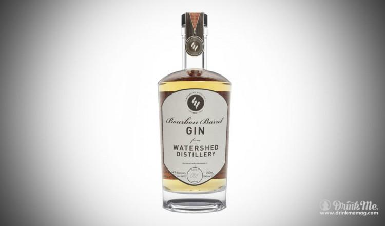 Bourbon Barrel Gin Watershed Distillery