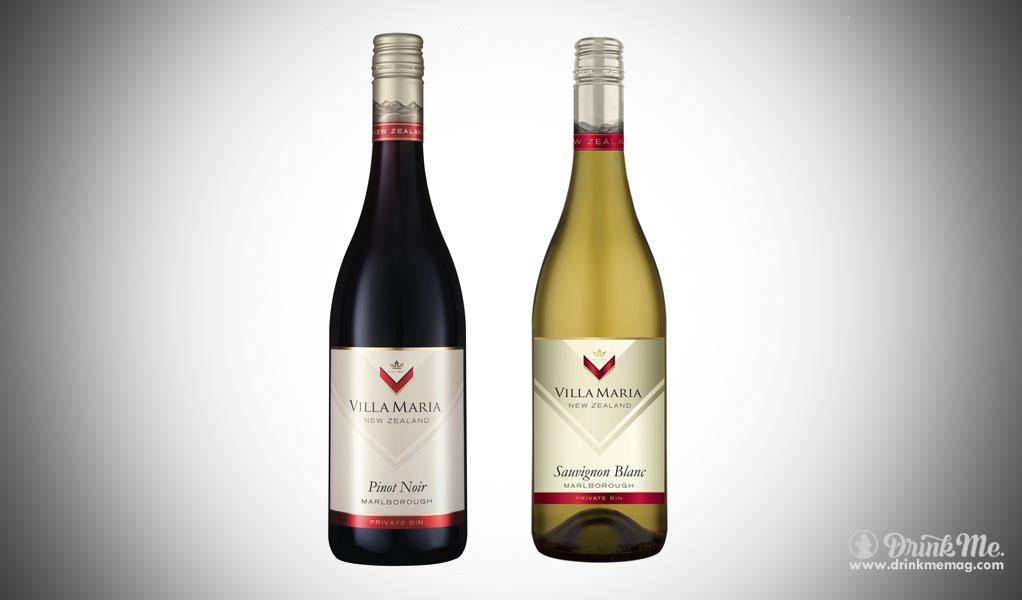 Villa Maria Sauvignon Blanc Pinot Noir drinkmemag.com drink me
