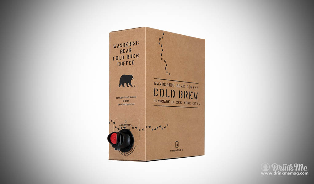 Wandering Bear Cold Brew drinkmemag.com drink me