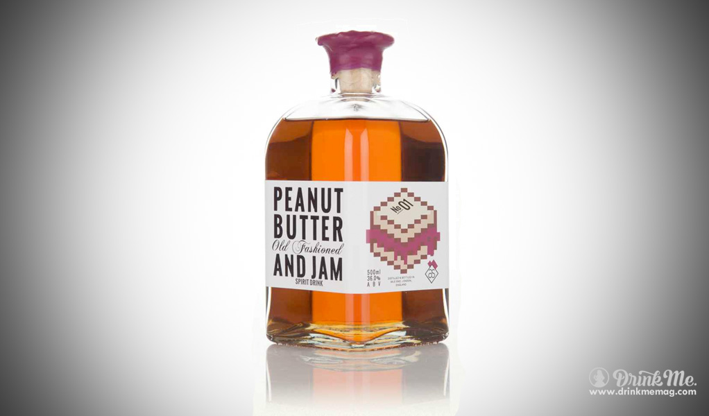 Peanut Old Fashioned Cocktail