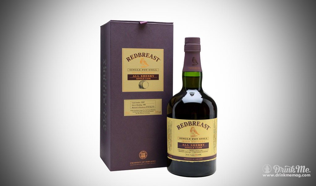 Redbreast Single Pot Still 1999 drinkmemag.com drink me