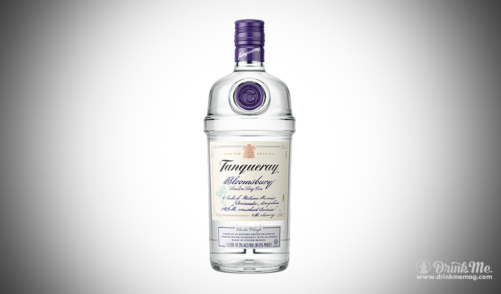 Tanqueray Bloomsbury London Dry GIn drinkmemag.com drink me