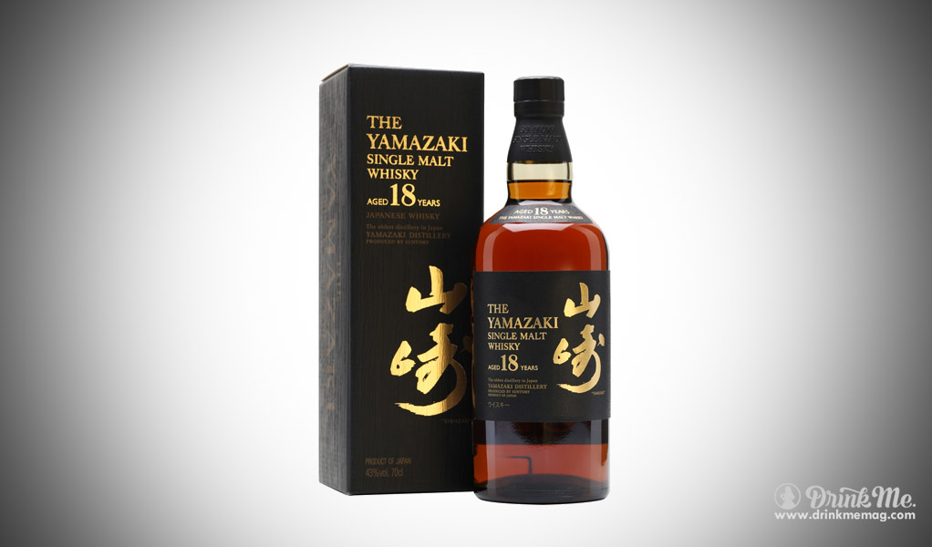 Yamazaki 18 year whisky beam suntory japanese whisky drinkmemag.com drink me
