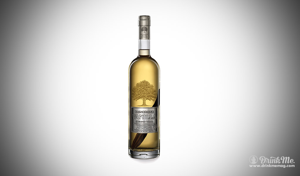 Bainbridge's Organic Vanilla Vodka drinkmemag.com drink me