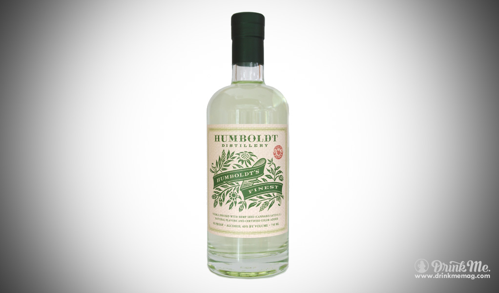 Humboldt distillery canabis vodka drinkmemag.com drink me