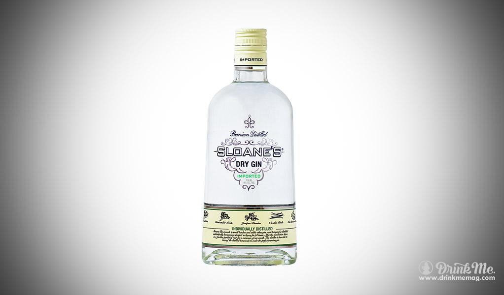 Sloanes Dry Gin drinkmemag.com drink me