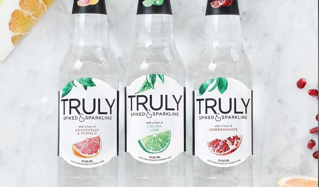A truly spiked and sparkling summer drink me for Sparkling water mixed drinks