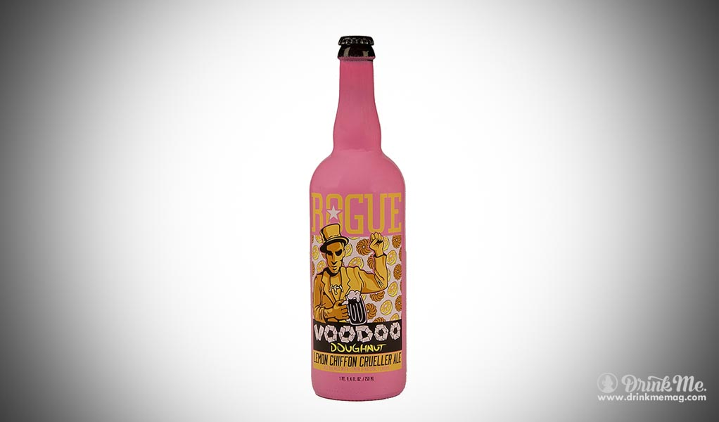Voodoo lemon doughnut beer  drinkmemag.com drink me beers with weird ingredients