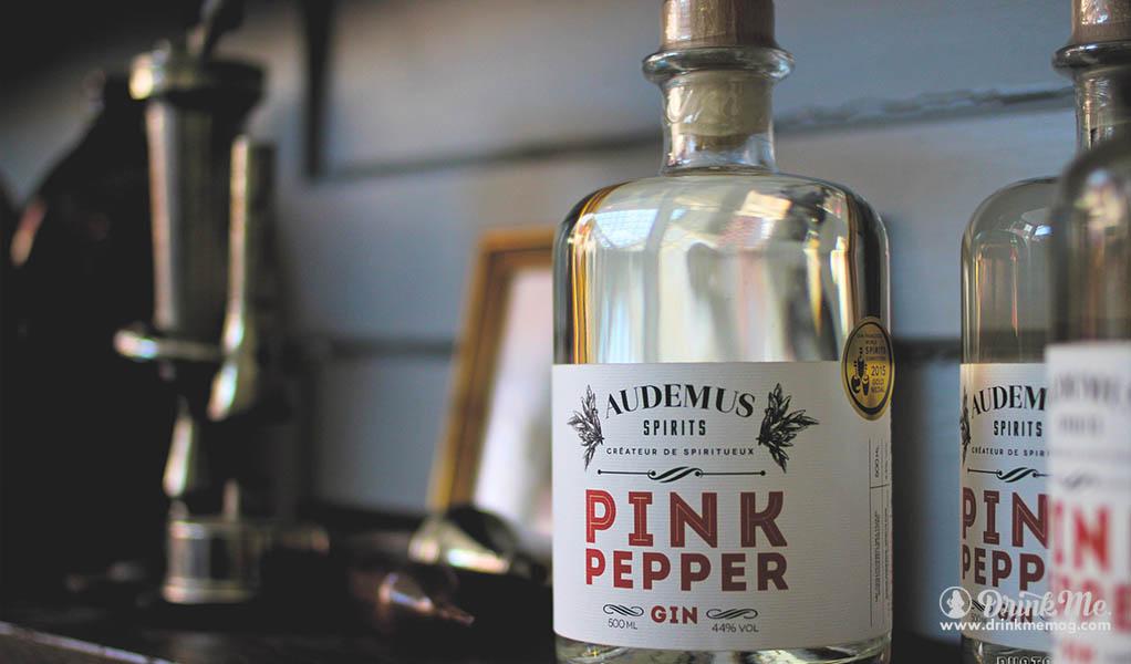 Audemus Pink Pepper Gin drinkmemag.com drink me