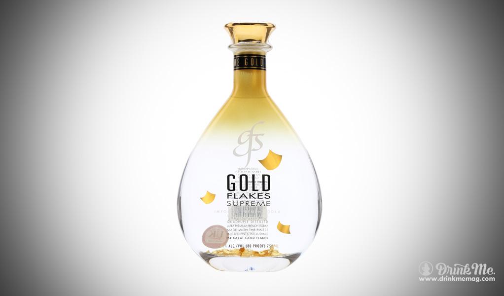 Gold Flakes Supreme Vodka drinkmemag.com drink me