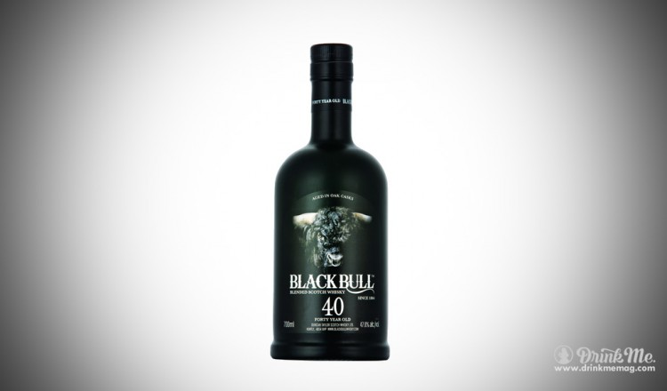 Black VBull whiskey 40 year old drinkmemag.com drink me