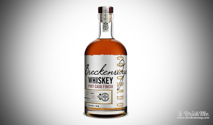 Breckenridge Whiskey Port Cask Finish drinkmemag.com drink me