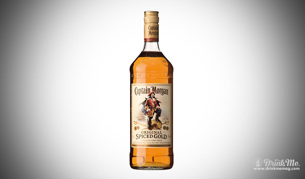 Captain Morgan best popular spirits in the usa drinkmemag.com drink me