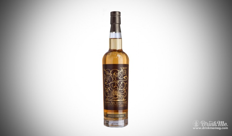 Peat Monster compass box whiskey drinkmemag.com drink me