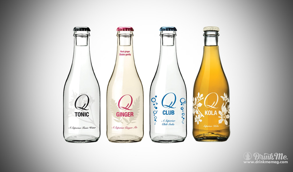 Q Drinks drinkmemag.com drink me tonics soda ginger beer mixers