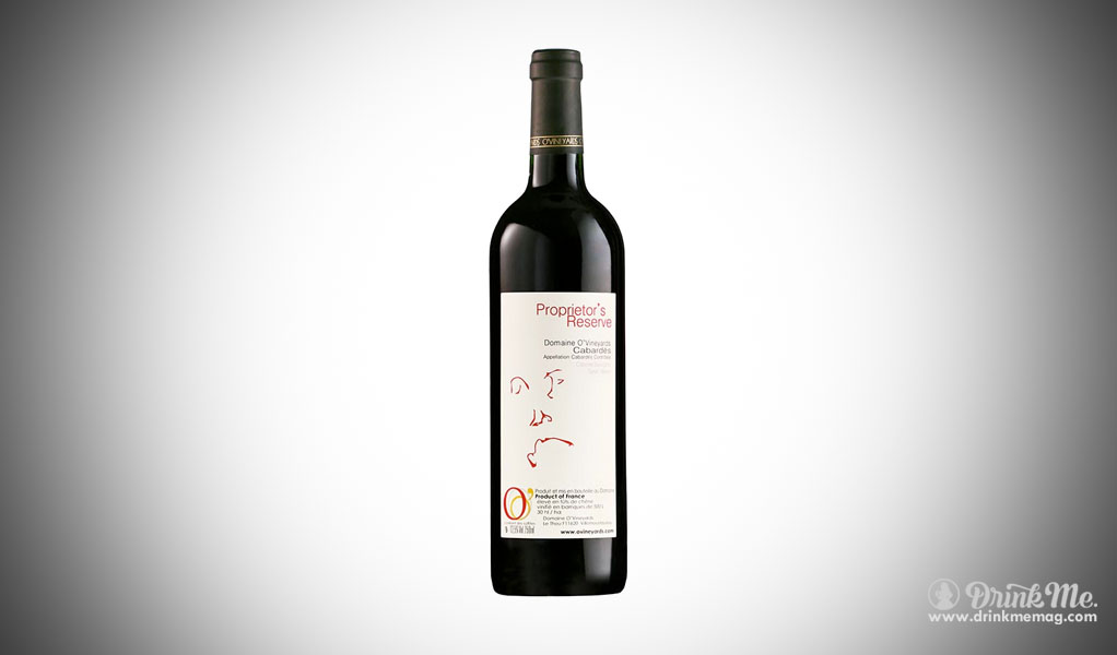 Proprietor's Reserve domaine o vieyards 2012 drinkmemag.com drink me