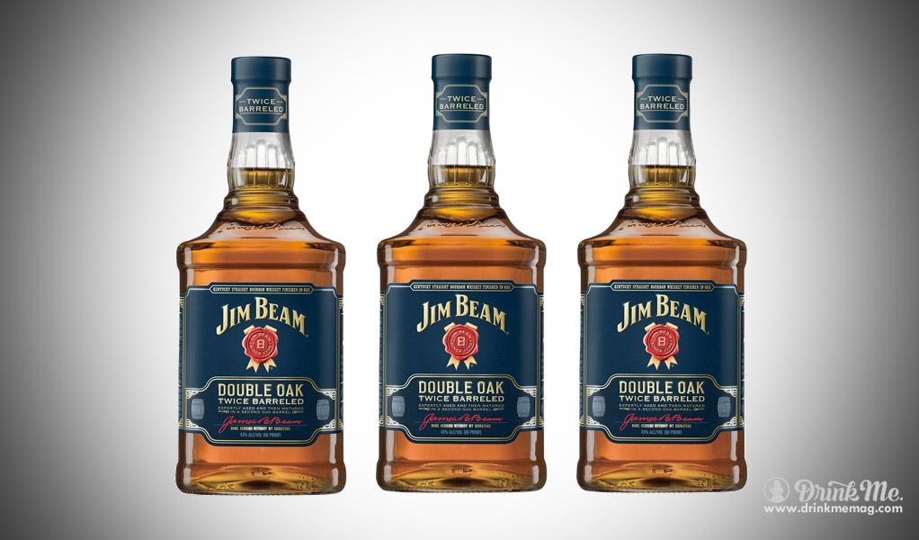 JIm Beam Double Oak dirnkmemag.com drink me drinkmemag.com