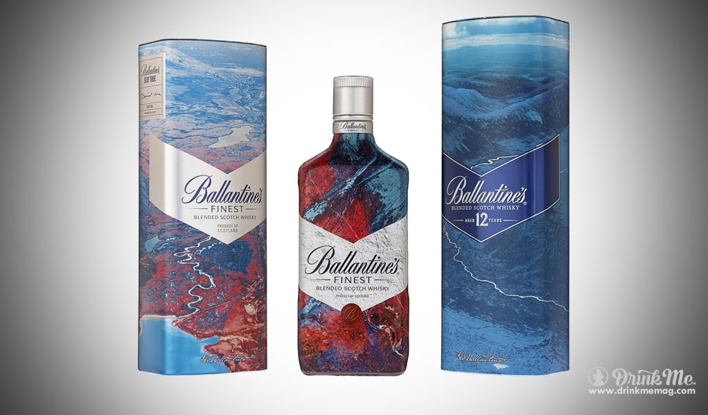 Ballantines drinkmemag.com drink me artist series