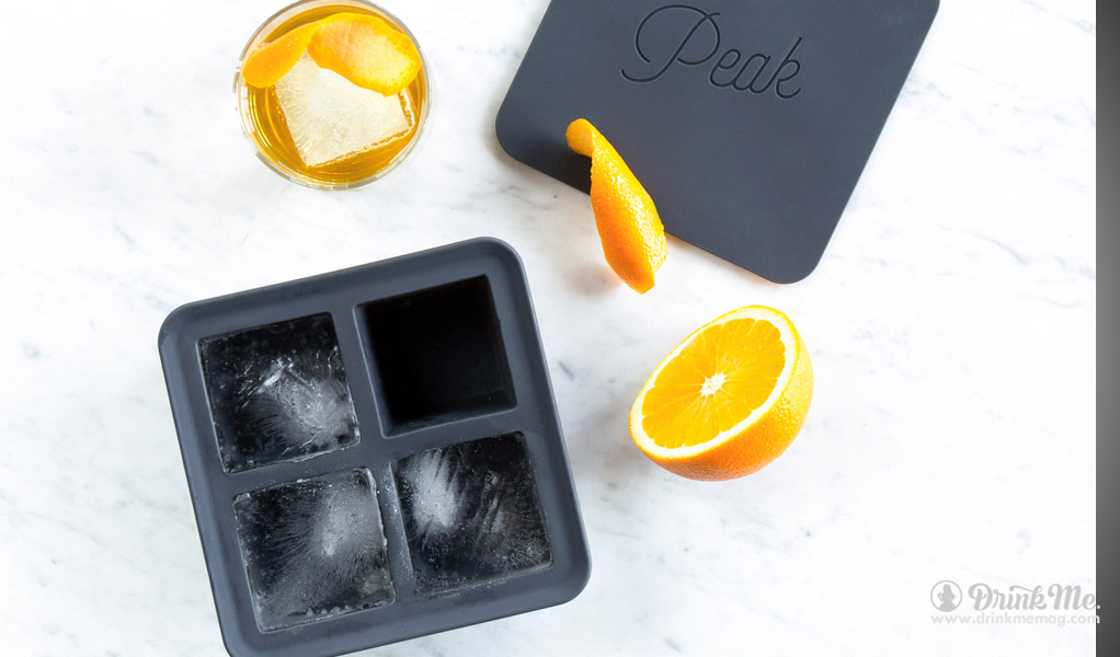 Peak Ice Cubes drinkmemag.com drink me