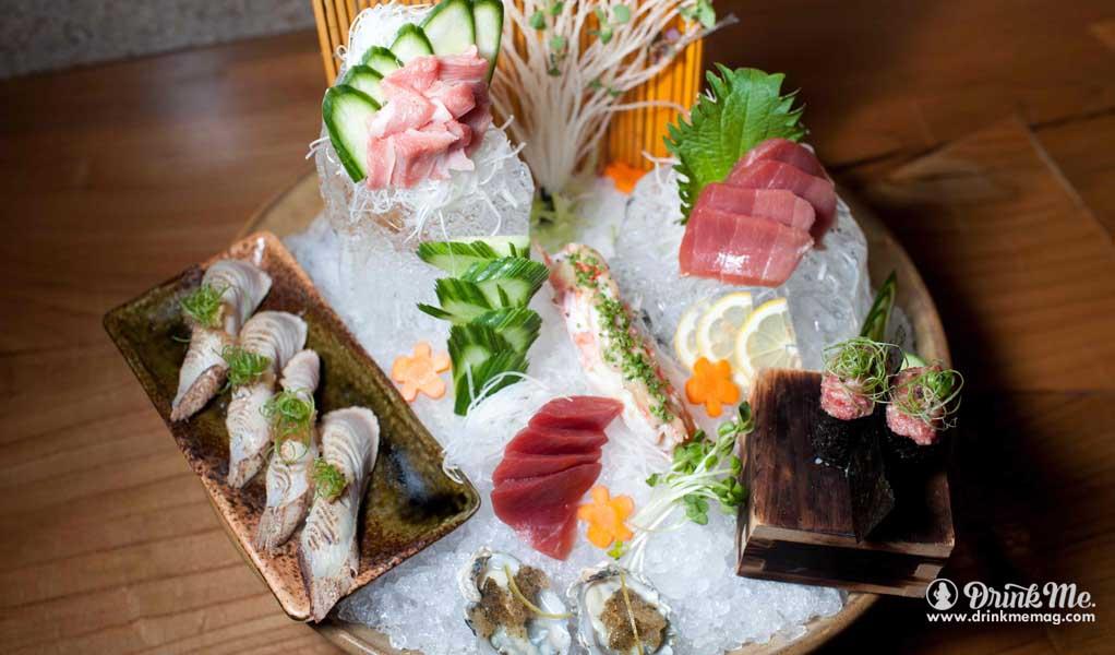 Sushi platter drinkmemag.com drink me roka AKOR