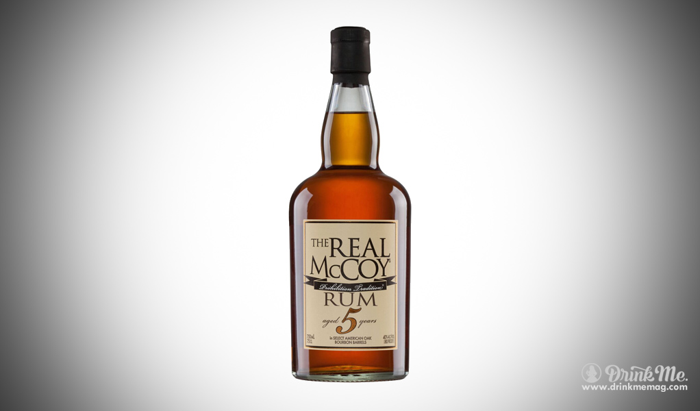 The Real McCoy Rum drinkmemag.com drink me