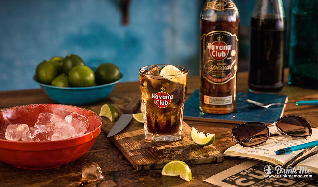 Cocktail guide the cuba libre drink me for Cocktail havana club