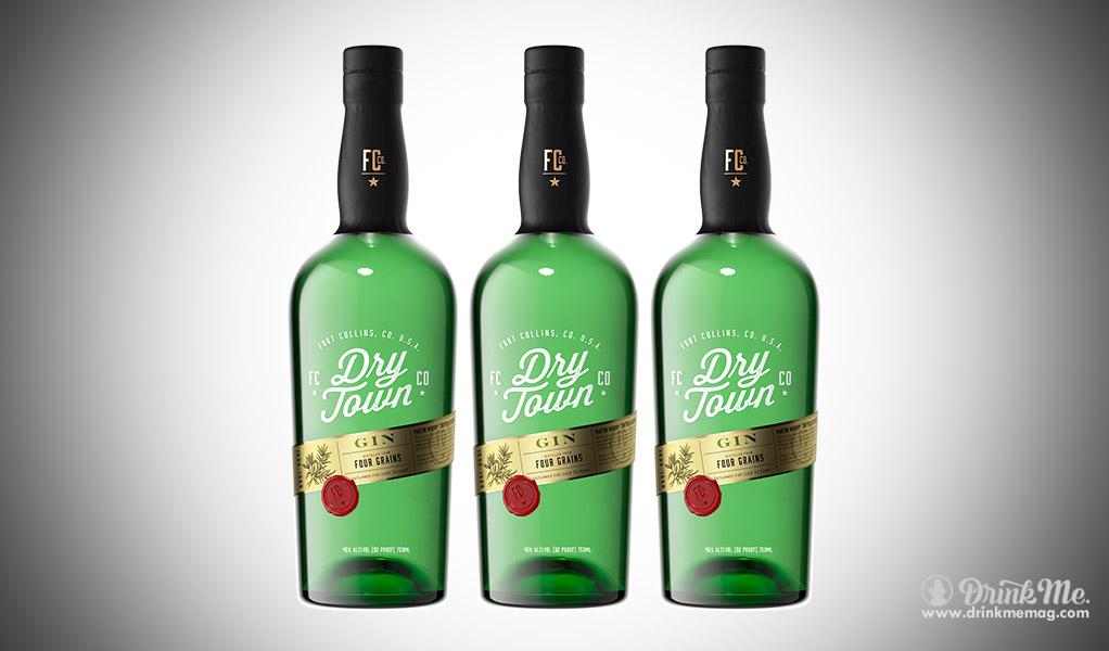 Dry Town Gin Bottle Shot drinkmemag.com drink me
