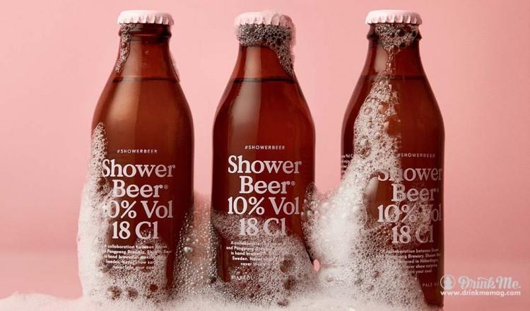 Shower Beer drinkmemag.com drink me
