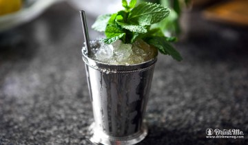 Honey Mint Julep drinkmemag.com drink me