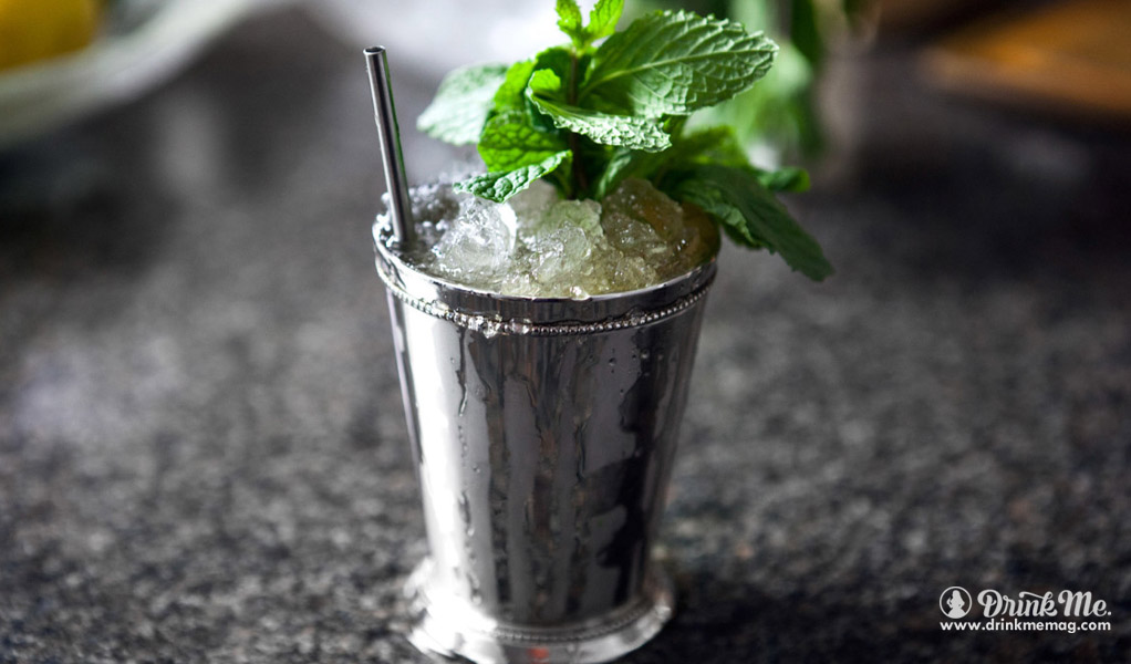Honey Mint Julep drinkmemag.com drink me