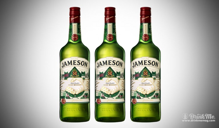 The Jameson Limited Edition Bottle designed by Steve McCarthy drinkmemag.com drink me