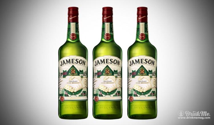 The Jameson Limited Edition Bottle designed by Steve McCarthy drinkmemag.com drink me
