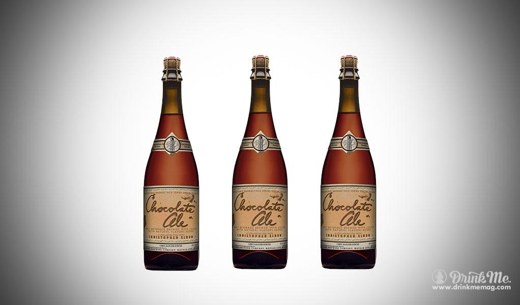 Boulevard Brewing Chocolate Ale drinkmemag.com drink me Top Chocolate Beer