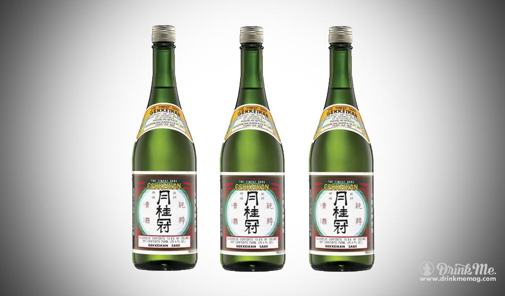 Gekkeikan drinkmemag.com drink me best sakes in the USA