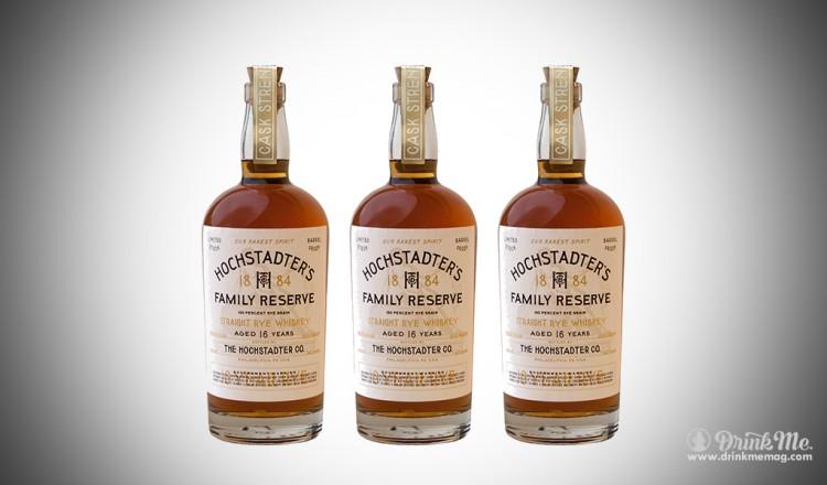 Hochstadter's Family Reserve 16 Year Straight Rye Whiskey drinkmemag.com drink me