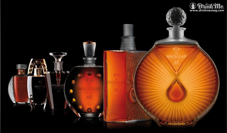 Macallan in Lalique Six Pillars odyssey drinkmemag.com drink me macallen legacy collection