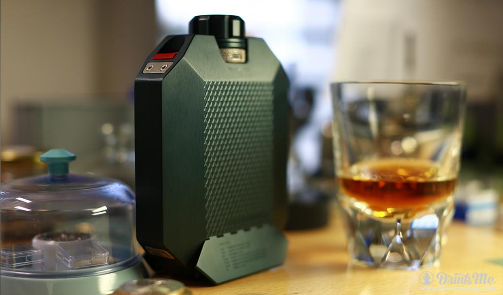 Macallan x Urwerk Whiskey Flask drinkmemag.com drink me Flask