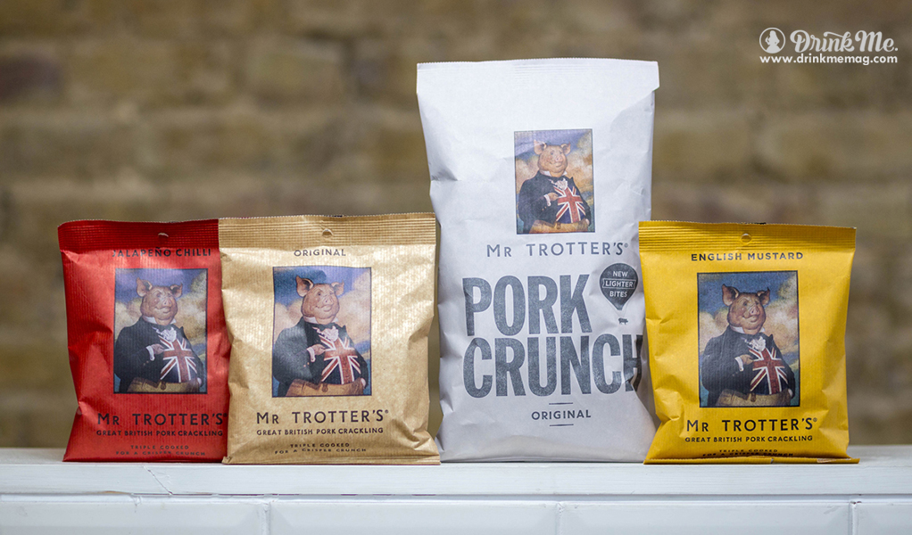 Pork Crunch drinkmemagcom drink me Mr Trotter's