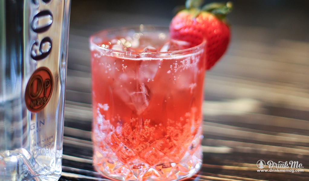 Strawberry Shabbes drinkmemag.com drink me Distillery No 209 Cocktails Best Easter Cocktails
