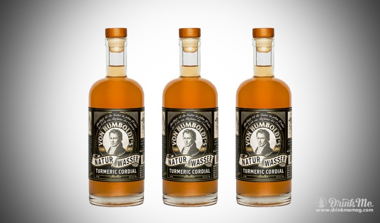 VonHumboldts Turmeric drinkmemag.com drink me Tumeric Liquor