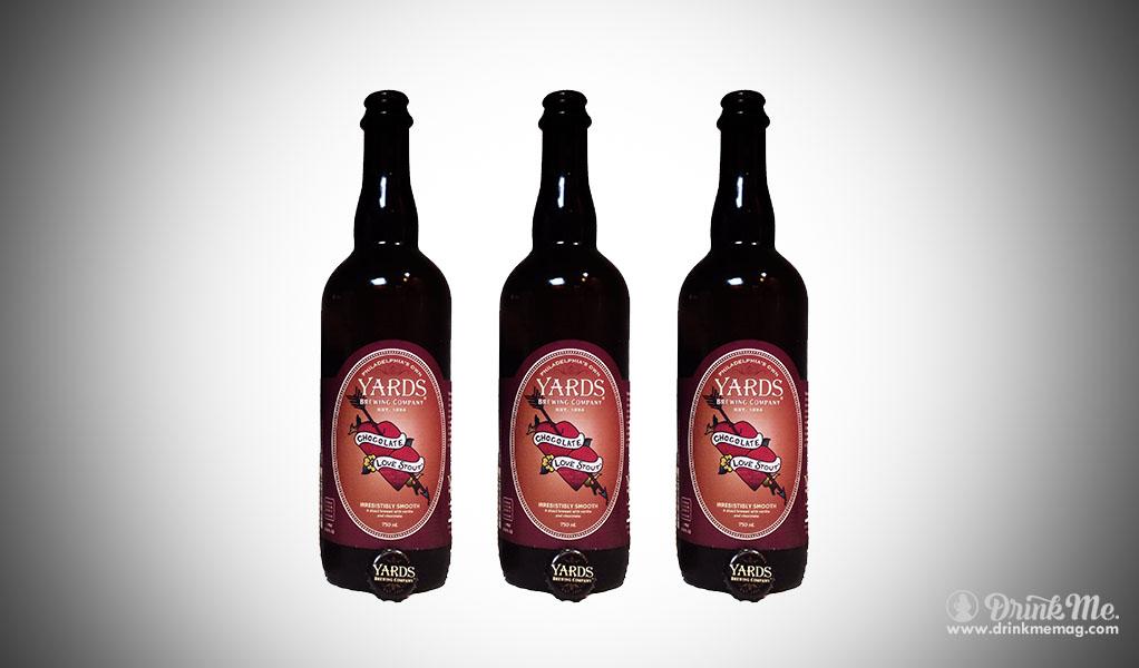 Yards Chocolate Love Stout drinkmemag.com drink me Top Chocolate Beers