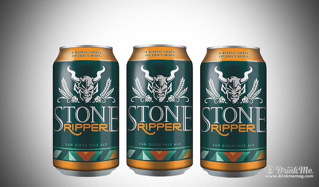 stone ripper pale ale drinkmemag.com drink me Ripper Pale Ale