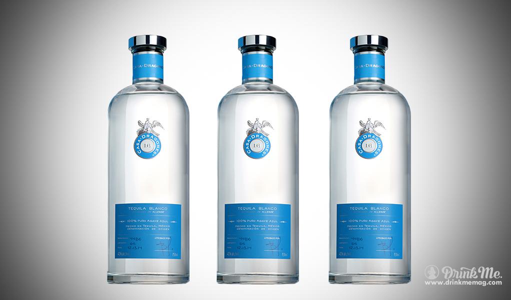 Casa Dragones Blanco drinkmemag.com drink me The Top Tequila Blancos