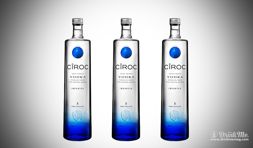 Ciroc drinkmemag.com drink me The Top French Vodka's