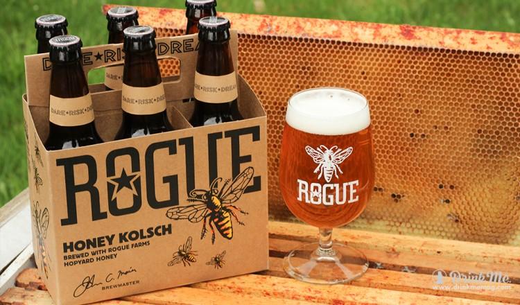 Kolsch Staged 30 drinkmemag.com drink me Rogue Honey Kolsch