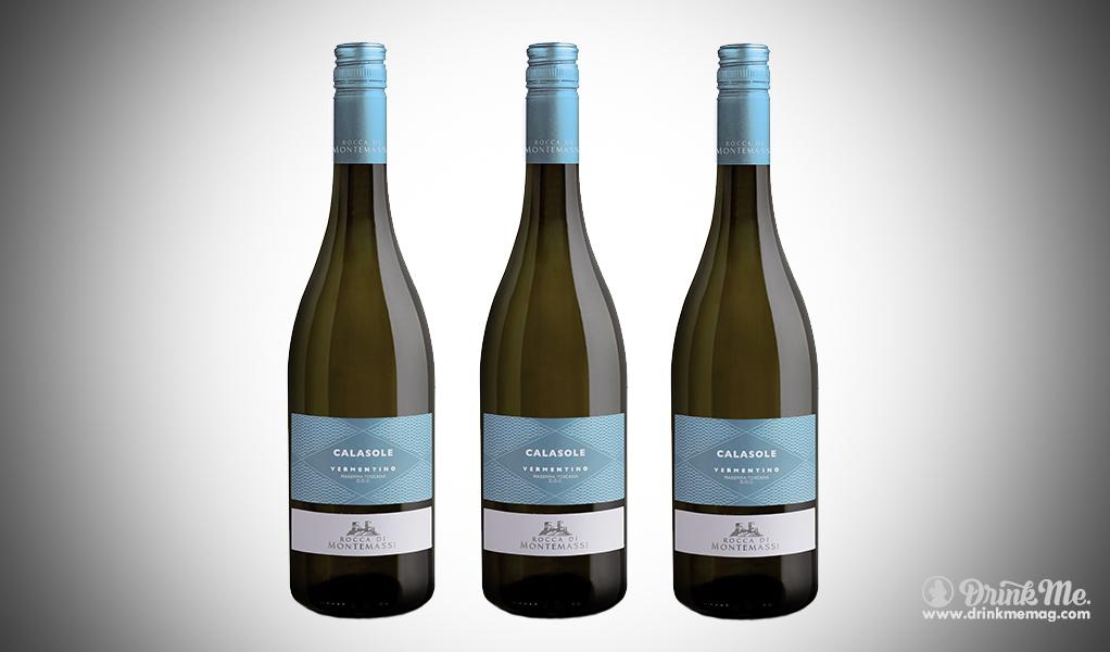 Rocca Di Montemassi Calasole Vermentino drinkmemag.com drink me Father's Day Wines