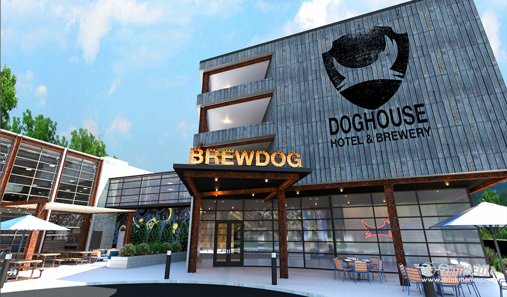 The Dog House Exterior drinkmemag.com drink me Brew Dog Hotel